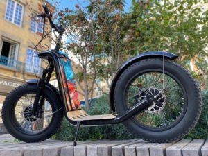 trottinette électrique, trottinette tout terrain, trottinette grosse roue, trottinette electrique tout terrain